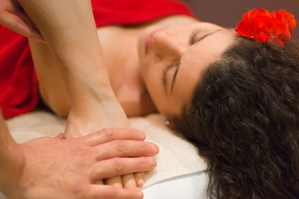 Relaxing Magnesium Oil Massage